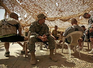American troops in Iraq