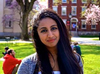 Nikhita Mendis, Brown University