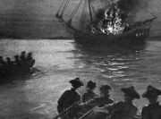 "burning of the ship ""gaspee"""