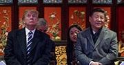 President Trump and China's Xi Jinping