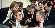 Committee investigating the Iran-Contra affair in 1987