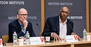 Senior Fellows Tom Perez '83 and Michael Steele