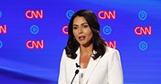 Congresswoman and presidential hopeful Tulsi Gabbard