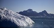 An iceberg in Greenland