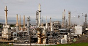 Large oil compound in California