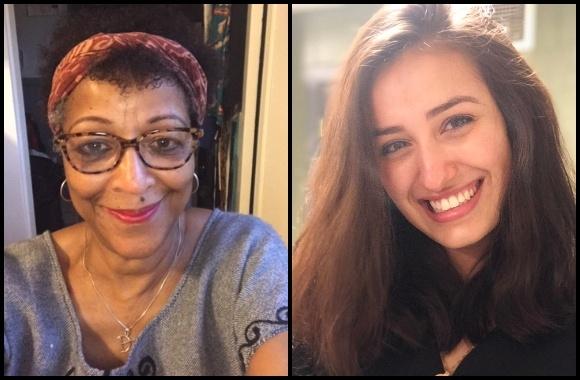Professor Geri Augusto and Jamila Beesley '22