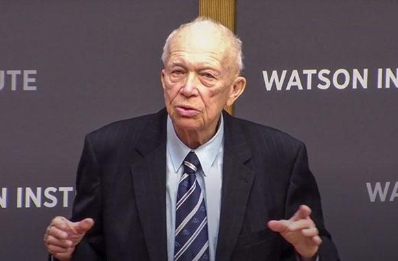 Sergei Khrushchev, Watson Institute, Brown University