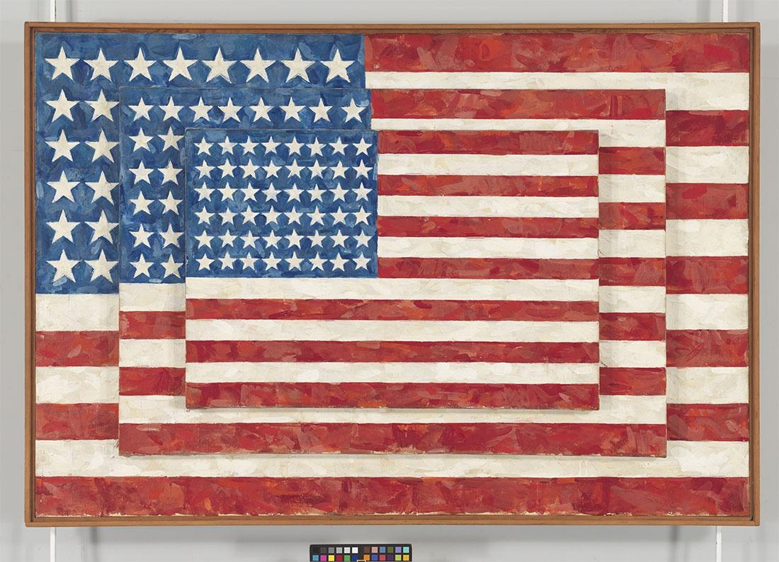 Jasper Johns - Three Flags