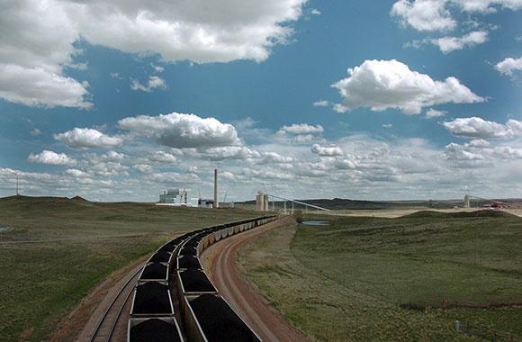 Coal train climate change