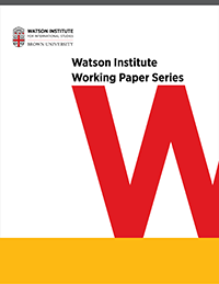 Watson Working Papers