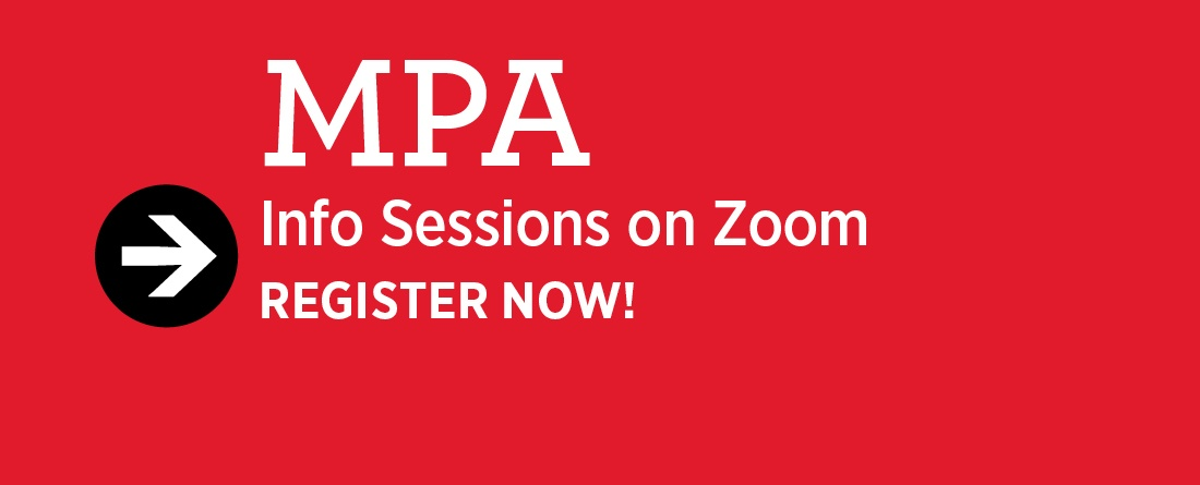 Register now for 1-year MPA information sessions on Zoom