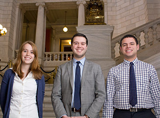Governor Francis Licht Interns