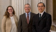 Valerie Cooley, Christopher King, Kenneth Wong at the Rhode Island Family Impact Seminar