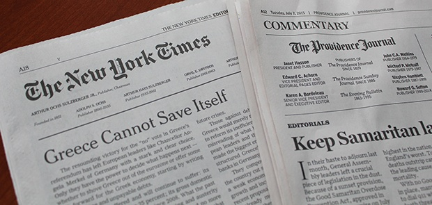 Op-Ed Pages