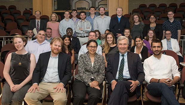 MPA Students with Senator Sheldon Whitehouse