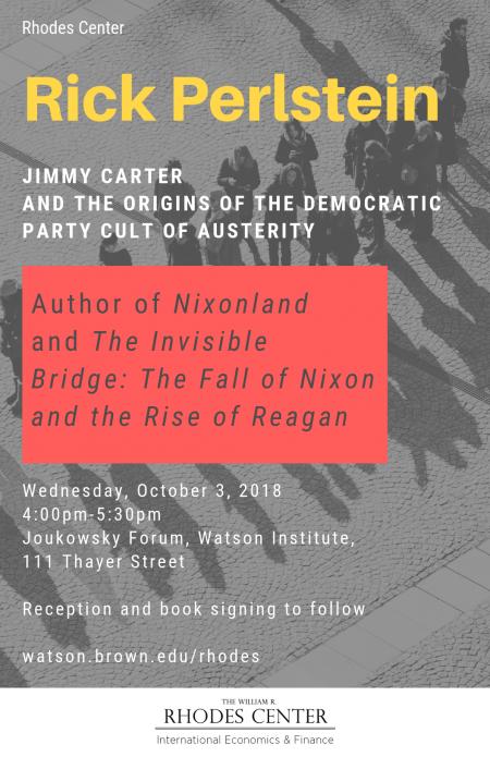 Rhodes Perlstein Carter Austerity Oct 3 2018