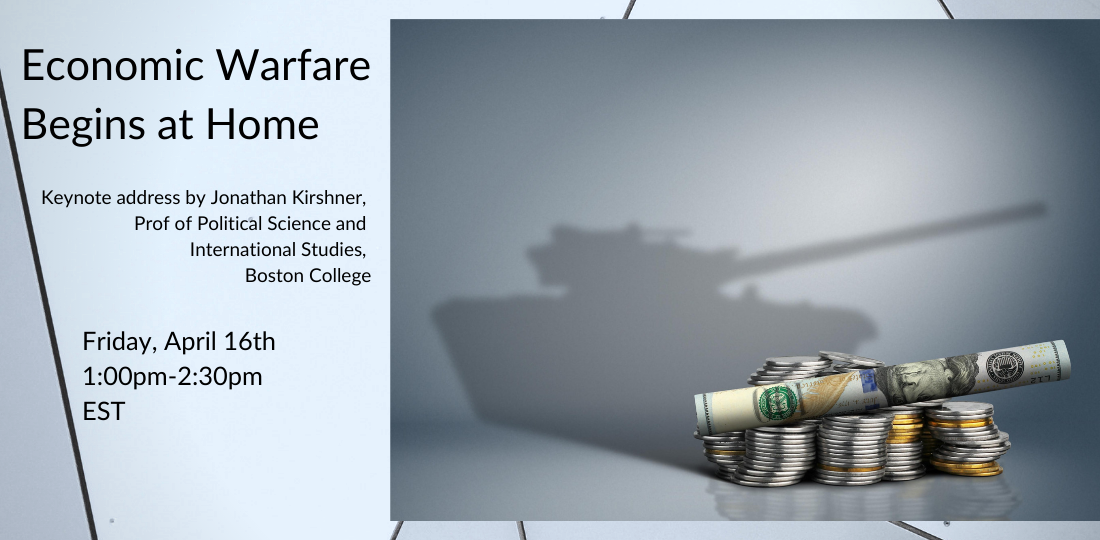 Economic Warfare begins at home tank image
