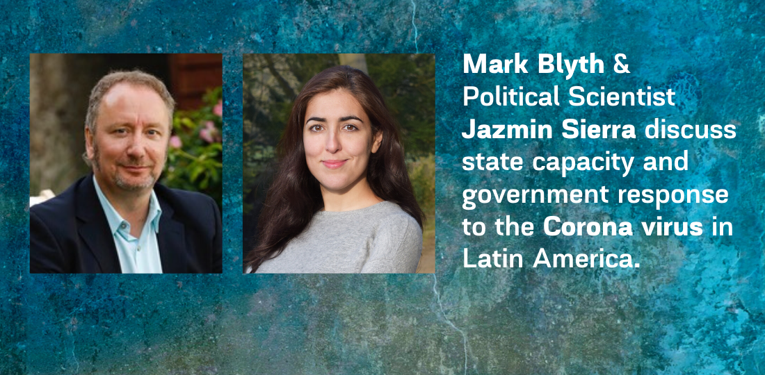 Blyth & Sierra discuss government response to coronavirus