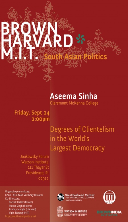 india and the politics of developing countries varshney ashutosh