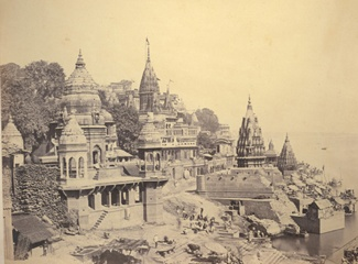1860s Benares by the Ganges