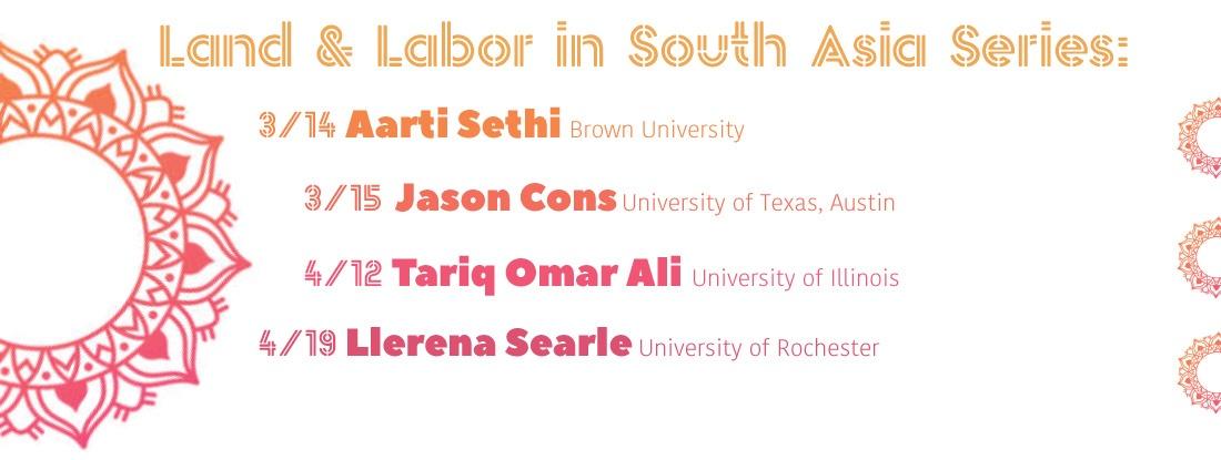 Aarti Sethi, Jason Cons, Tariq Omar Ali & Llerena Searle