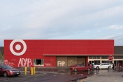 "A Target in Minneapolis, Minnesota marked with ""ACAB"" and ""FTP"" tags"