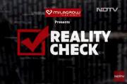 NDTV's reality check logo
