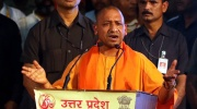 Yogi Adityanath speaking