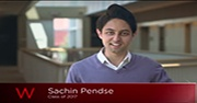 Sachin Pendse being interviewed by Watson Spotlight