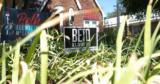 Beto O'Rouke Sign